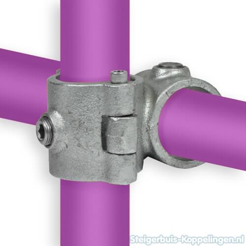 Steigerbuis koppeling open (klapbaar) kruisstuk 90°