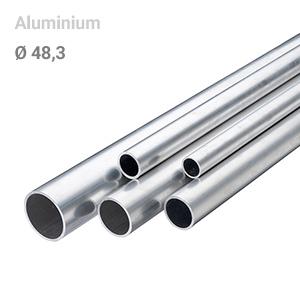 Buis aluminium 48,3 mm