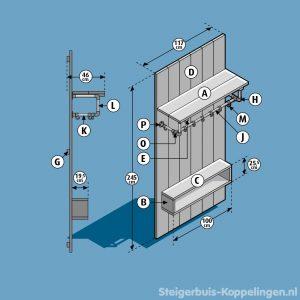 bouwtekening entreemeubel thumb