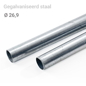 Buis staal 26,9 mm