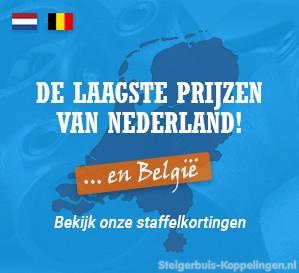De laagste prijzen van Nederland en Belgie!