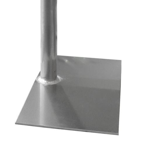 Aluminium beursvloerplaten