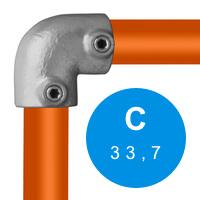 Buiskoppeling 33,7 mm (C)