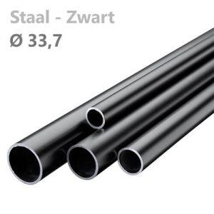 buis staal zwart 33,7 mm