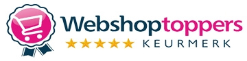 Webshoptoppers keurmerk